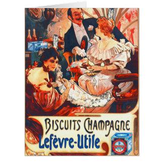 Champagnekexannons 1896 jumbo kort