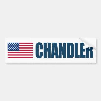ChandlerUS-flagga Bildekal