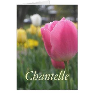 Chantelle Hälsningskort