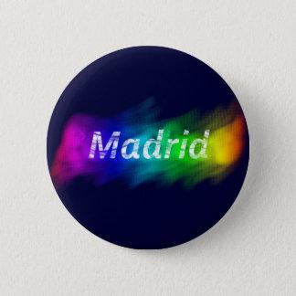 Chapa Madrid Gay (Button Madrid Gay) Standard Knapp Rund 5.7 Cm