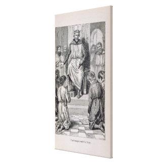 Charlemagne och pojkarna canvastryck