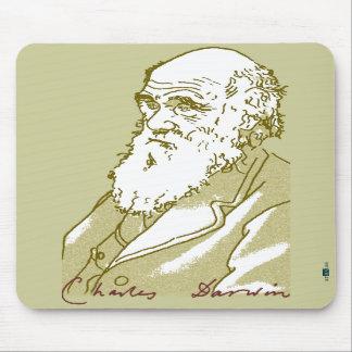 Charles Darwin mousepad Musmatta