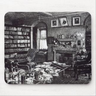 Charles Darwin studie på Down huset, 1882 Musmatta