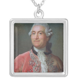 Charles Gravier räkning av Vergennes, 1771-74 Silverpläterat Halsband