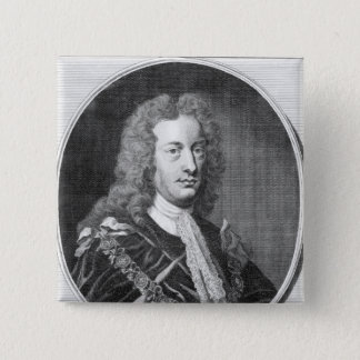 Charles Spencer, 3rd Earl av Sunderland Standard Kanpp Fyrkantig 5.1 Cm