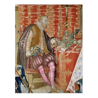 Charles V från 'tapestryen av Charles Vykort