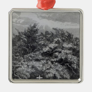 Charles Watertons grav Julgransprydnad Metall