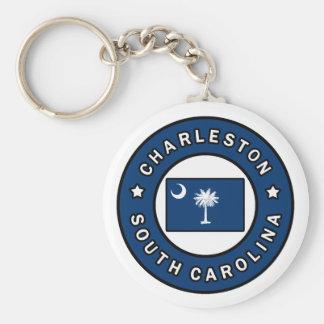 Charleston South Carolina Rund Nyckelring