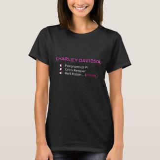Charley Davidson CheckboxTshirt T Shirt
