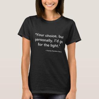 Charley Davidson citationsteckenGrimGirl T-tröja Tröja