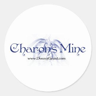 Charon Runt Klistermärke