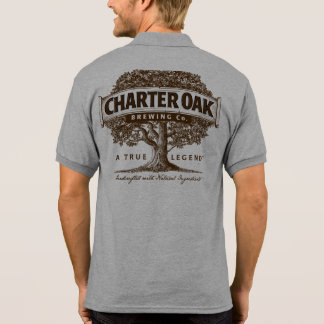 CharterOak som bryggar Poloskjortan Polo Tröja