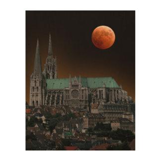 Chartres domkyrka trätavla