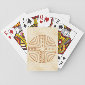 Chartres labyrint casinokort