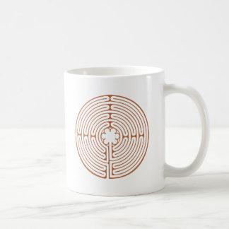 Chartres labyrint kaffemugg