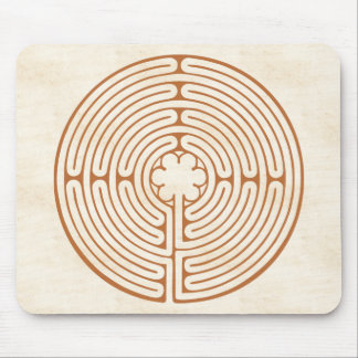 Chartres labyrint musmatta