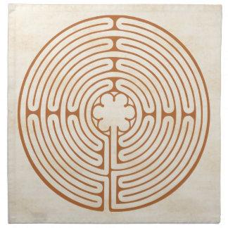 Chartres labyrint tygservett