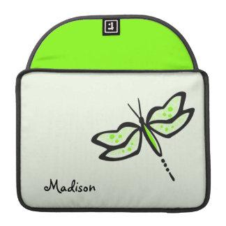 Chartreuse grön slända för neon sleeves för MacBook pro