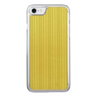 Chartreuse gultgrönt för vertikala randar carved iPhone 7 skal
