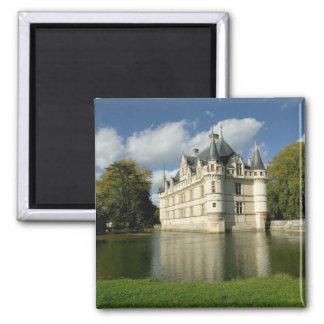 Chateau av Azay-le-Rideau, Indre-et-Loire, 2 Magnet