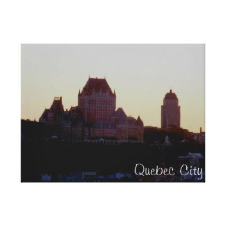Chateau Frontenac Canvastryck