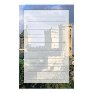 ChateauComtal Chateau av räkningarna av Brevpapper