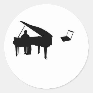 CHATROULETTE-PIANO IMPROV RUNT KLISTERMÄRKE