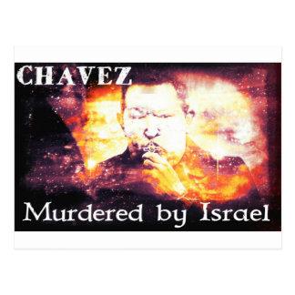 Chavez mördade vid Israel Vykort