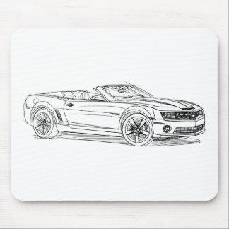 Che Camaro omvänd 2011 Musmatta