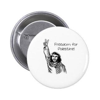 Che Guevara frihet för Palestina Knapp