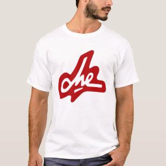 Che Guevara häfte - som är rött på vit T Shirt