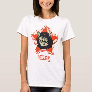 Che Guevara kattT-tröja Tee Shirts
