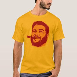 Che Guevara med cigarrporträttT-tröja Tee Shirts