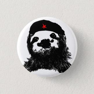 Che Guevara Sloth Mini Knapp Rund 3.2 Cm