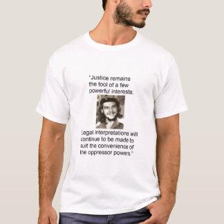 Che - rättvisa t-shirt