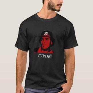 Che svart tee shirt