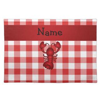 Checkers för picknick för känd hummer för bordstablett