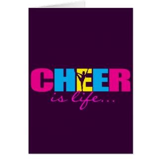 Cheerleading lilor för personligjubel hälsningskort