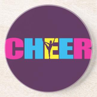 Cheerleading lilor för personligjubel underlägg sandsten