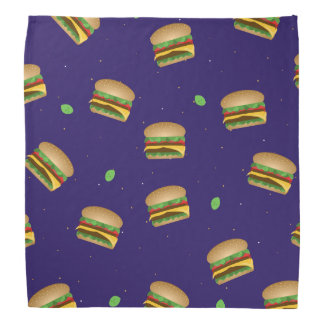 Cheeseburgeren drömm bandanaen scarf