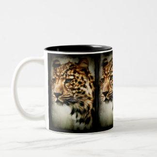Cheetah Två-Tonad Mugg