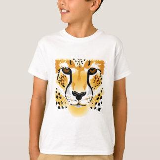 Cheetahansiktetecknaden lurar skjortan t shirts