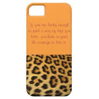 cheetahen för iphone 5 täcker iPhone 5 Case-Mate fodraler