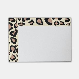 Cheetahen Spots Posta- Kom-ihåg Block