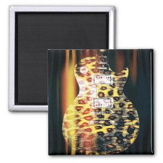 Cheetahgitarrmagnet Magnet