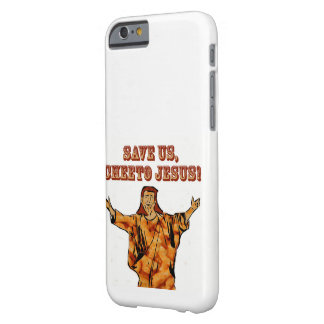 Cheeto Jesus iphone case Barely There iPhone 6 Fodral