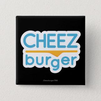 Cheezburger logotyp (färg) standard kanpp fyrkantig 5.1 cm
