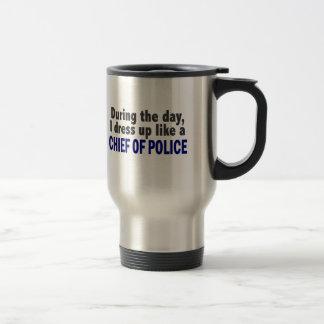 Chef av polis under dagen resemugg