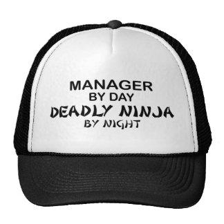 Chef dödliga Ninja vid natt Keps