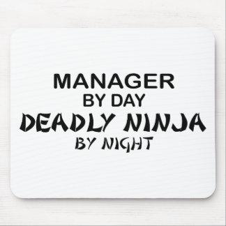 Chef dödliga Ninja vid natt Mus Mattor